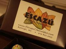 Escazu Artisan Chocolates in Raleigh (Image from Facebook)