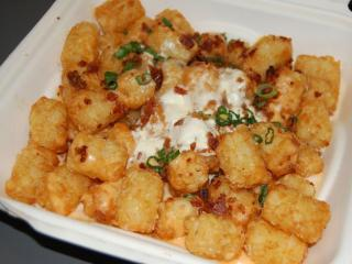 The Loaded Tots at Busy Bee Cafe