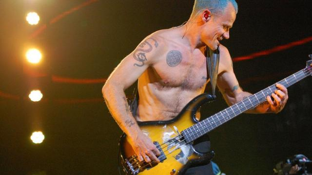 The Red Hot Chili Peppers performed at PNC Arena in Raleigh on April 4, 2012.