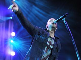 Daughtry performed at the Greensboro Coliseum on April 7, 2012.