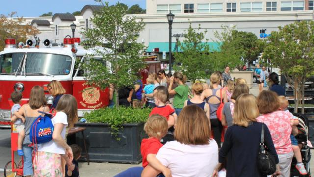 Fun at North Hills Kids with Go Ask Mom and First in Fire Company on April 17.