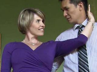 "WRAL reporter and weekend anchor Sloane Heffernan practices to compete in the annual ""Dancing Like the Stars"" competition held during the Southern Women's Show in Raleigh on April 28."