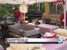 The Dogwood Festival begins Friday, April 27, in Fayetteville