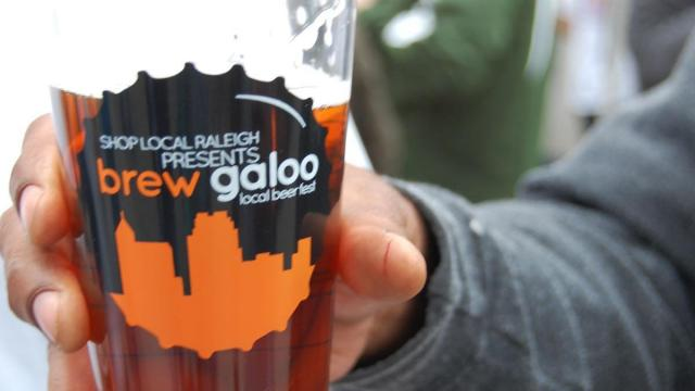 People enjoyed craft beer, live music and food trucks at Brewgaloo in downtown Raleigh.