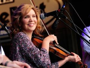 Alison Krauss & Union Station featuring Jerry Douglas at Merlefest (Image by Will Sparklinn)