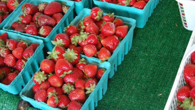The State Farmers Market celebrated Strawberry Day on May 3, 2012.