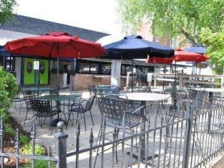 The patio at the Mellow Mushroom in Raleigh. (Image from Facebook)