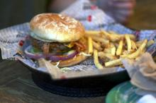 Hurricane Grill and Wings in Cary isn't known for its burgers, but it should be.
