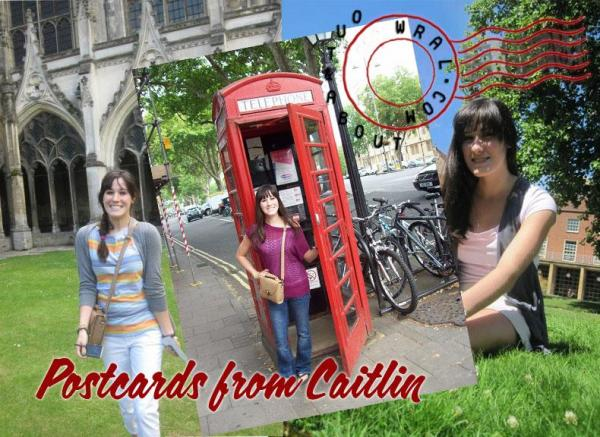Postcards from Caitlin