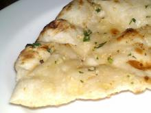 Garlic Naan at Mantra Raleigh