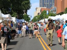 A two day art festival takes over Downtown Raleigh every May. Enjoy sand art, sculpture, live music, crafts, crafts for kids, beer, and more!