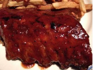 The ribs at Winston's.