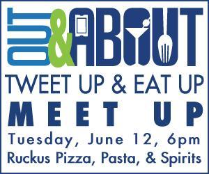 Out & Abotu Tweet Up & Eat Up Meet Up #1 at Ruckus Pizza, Pasta, & Spirits