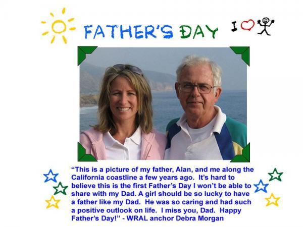 Debra Morgan and dad
