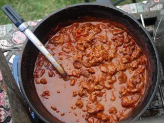 Chili cooks from around the area faced off on Saturday, June 16, 2012, at the 10th annual Bull City Chili Challenge at Durham Central Park.