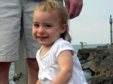 Clare Katherine Whitenack was a happy and thriving 19-month old toddler when she unexpectedly passed away in September 2009. Now, her family has created a race in her memory.  (Image from the Whitenack family)