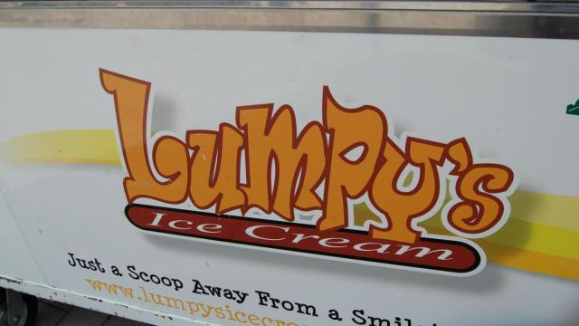 Lumpy's ice cream brought some tasty treats to the Raleigh Downtown Farmer's Market.