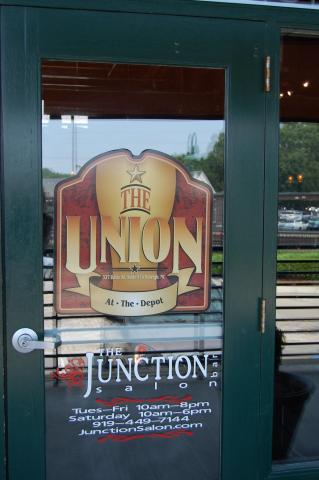 The Junction Salon is located in the Raleigh Depot.
