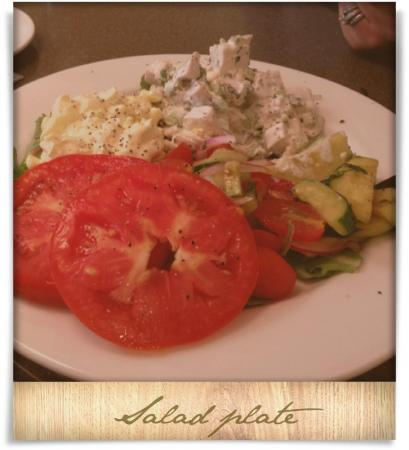 Taken at Weathervane.  Comment: Salad plate