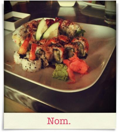 Taken at Sushi Blues.  Comment: Nom.