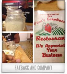 Pam's Farmhouse: Fatback and company