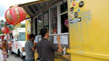 IMAGES: Chirba Chirba building second food truck