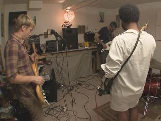 It may be a small practice space, but Gross Ghost puts out a big sound.