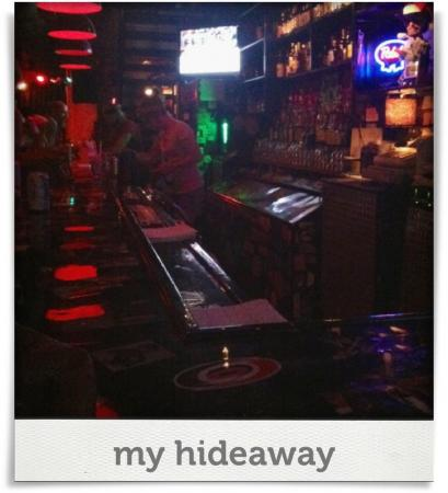 Taken at Slims Downtown Distillery.  Comment: my hideaway