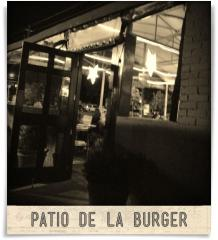 MoJoe's Burger Joint: Patio de la burger