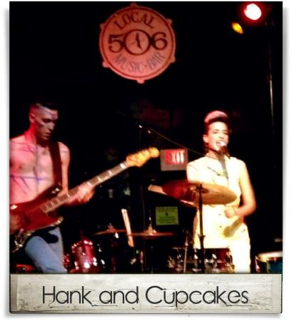 Taken at Local 506.  Comment: Hank and Cupcakes