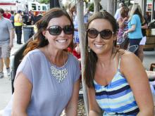 Crowds headed out to see Jim Quick and the Coastline Band at the North Hills Beach Music series on July 19, 2012.