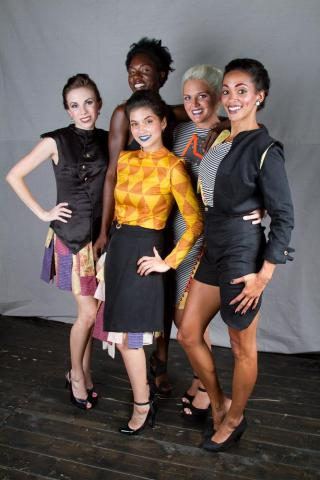 A look at the reFashioned runway show held at Motorco in Durham on July 19, 2012. (Image by Eric Waters)