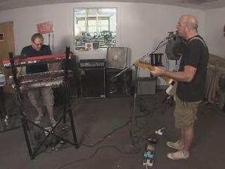 Chris Williams and Patrick Cudahy perform their latest single, Dead Sound.