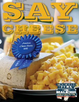 The Festival of Cheese is Aug. 4, 2012, at the Raleigh Convention Center. (Image from the American Cheese Society)