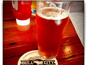 Taken at Bull City Burger and Brewery.  Comment: Happy Friday