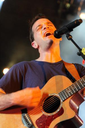 O.A.R. entertained a damp and lively crowd at the Raleigh Amphitheater on Wednesday, Aug. 8, 2012. (Photo by Jack Morton).