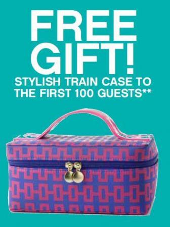Belk is calling all fashionistas to come out to Belk at Crabtree Valley Mall in Raleigh on Thursday from 6-9 p.m. to help them celebrate New York's Fashion's Night Out 2012. The first 100 event guests will receive this free chic train case.