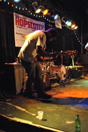 Gross Ghost performs Thursday night at The Berkeley Cafe during Hopscotch.