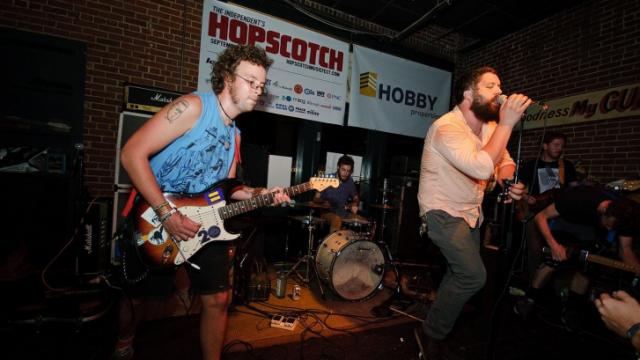 The Naked Gods perform at Tir na nOg during the Hopscotch Music Festival in downtown Raleigh on Friday, Sept. 7, 2012.