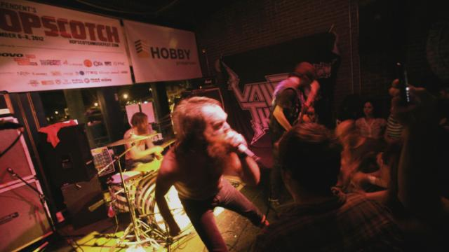 Valient Thorr plays Tir na nOg during the Hopscotch Music Festival in downtown Raleigh on Friday, Sept. 7, 2012.