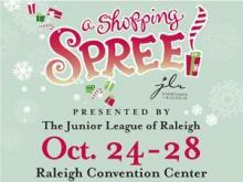 Get all of your holiday shopping done and help support the Junior League of Raleigh and its programs this year at The 28th Annual A Shopping SPREE presented by the Junior League of Raleigh.