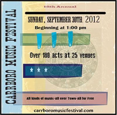 Carrboro Music Festival 2012