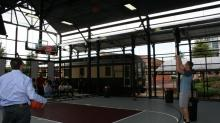 The Cage basketball court