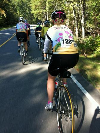 le Tour de Femme took riders from Wake to Chatham County.