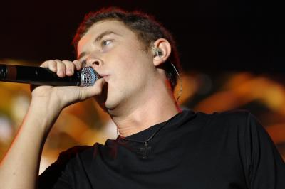 Scotty McCreery performs in Dorton Arena