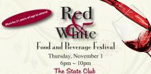 IMAGE: Sample delicious food and wine at the Red and White Food and Beverage Festival