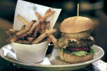 Tir na nOg burger