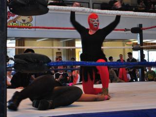 The Luchadoras brought the smackdown to Durham Armory on Saturday, Nov. 10.