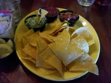 Chips and Salsa at Relish