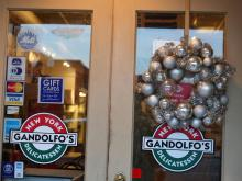 Downtown Smithfield merchants are participating in a contest for the 'best dressed' holiday window.
